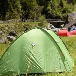 Valmasino, controlli in quota sui campeggi abusivi