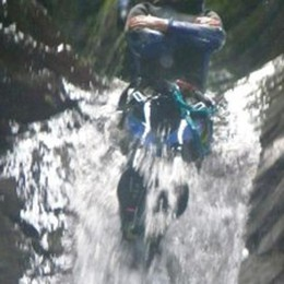 Canyoning, ragazza cade in una forra   Soccorsa in Val Bodengo