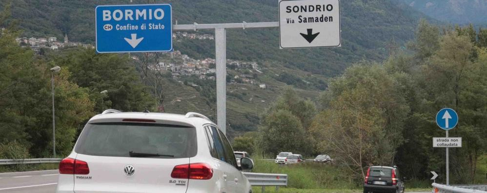Sondrio, accesso diretto in città  Il nuovo svincolo porta i primi benefici