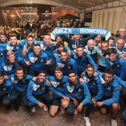 Calcio, show al Palio e debutto in Coppa: è l'ora del Sondrio