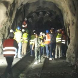 Tunnel di Selvapiana, ci siamo Maroni sul cantiere della nuova 38