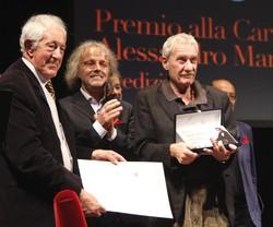 Claudio Vaghi e Vittorio Colombo con Paolo Conte