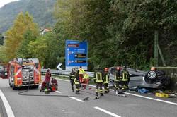 Colico fotoservizio incidente mortale sulla strada statale ss36 direzione nord