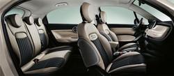 Fiat 500X, tanto spazio a bordo