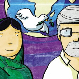 Con il Nobel Malala  a parlare di pace