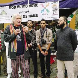 Presidio a Morbegno:   «Vogliamo la pace»