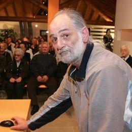 L'addio a Lucini, uomo di poesia con tanti amici