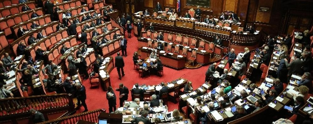 Produttività in Parlamento, i senatori valtellinesi non brillano
