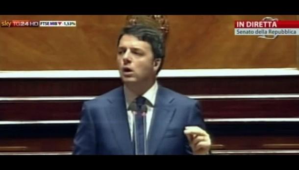 Renzi, ok Junker, ma investimenti timidi