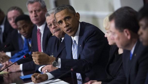 Usa: Obama, no a polizia militarizzata