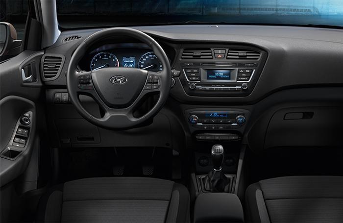 La plancia della Nuova Hyundai i20
