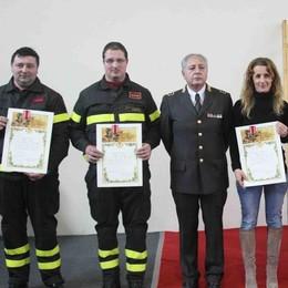 Vigili del fuoco, anno di super lavoro