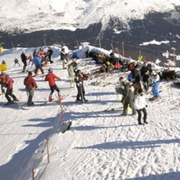 Poca neve ma buona: la stagione dello sci  è partita alla grande