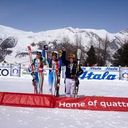 Sci alpino, Nicole Agnelli  terza nel gigante tricolore