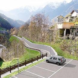 Strada e posteggio per Vetto  Lanzada approva il progetto