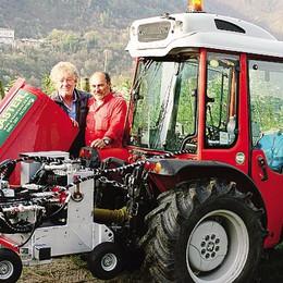 Ecco la macchina  che evita la chimica  e salva i frutteti