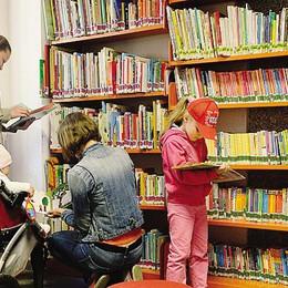 La biblioteca di Morbegno  trova spazio nell'ex tribunale