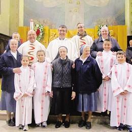 Sessant'anni di vita consacrata  Comunità di Isolaccia in festa
