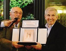 La premiazione di Orazio Rancati a Parma tra i migliori cento giocatori della squadra ducale L'ex mister del Sondrio insieme a Giovanni Trapattoni Rancati quando vestiva la maglia del Parma tra il 1969 e il 1972