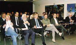 Il tavolo dei relatori con la presidente MuscettiAlcuni soci presenti all'assemblea