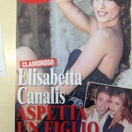 Tristezza Canalis  Ha perso il bimbo
