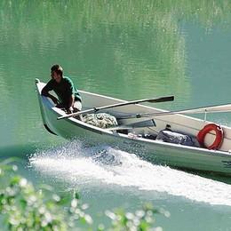Verceia,  licenze di pesca   contingentate sul lago