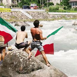 Canoa mondiale  Spettacoli d'acqua  e l'Adda è la star