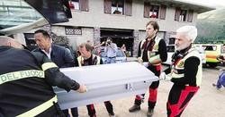 Patrick Lorenzi e Gessica Mambretti Giovanni ColliLa tenda in Val BrembanaIl recupero dei corpi