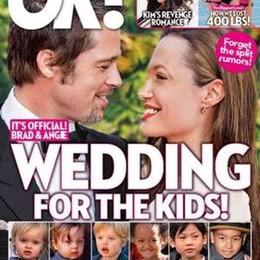 Angelina e Brad  si sono sposati