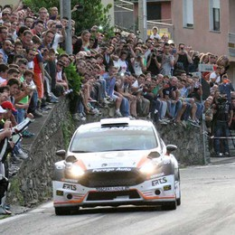 Rally, folla d'altri tempi  sulla Ronde di Albosaggia