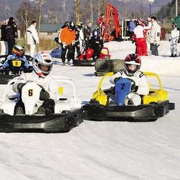 Kart sulla neve  Una pista a Lanzada