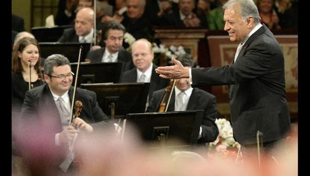 Concerto Vienna con Mehta e gli Strauss