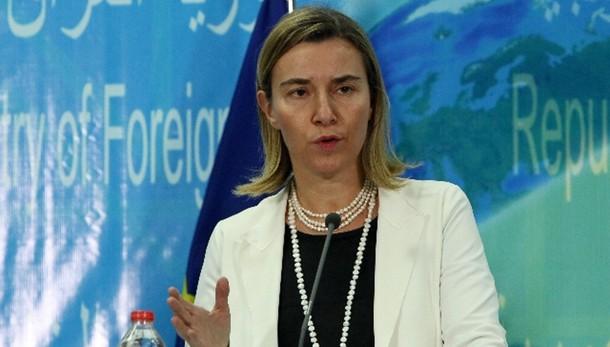 Mogherini,caso Marò pesa su rapporti Ue