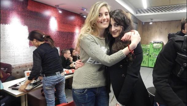 Vanessa e Greta stanotte a Ciampino