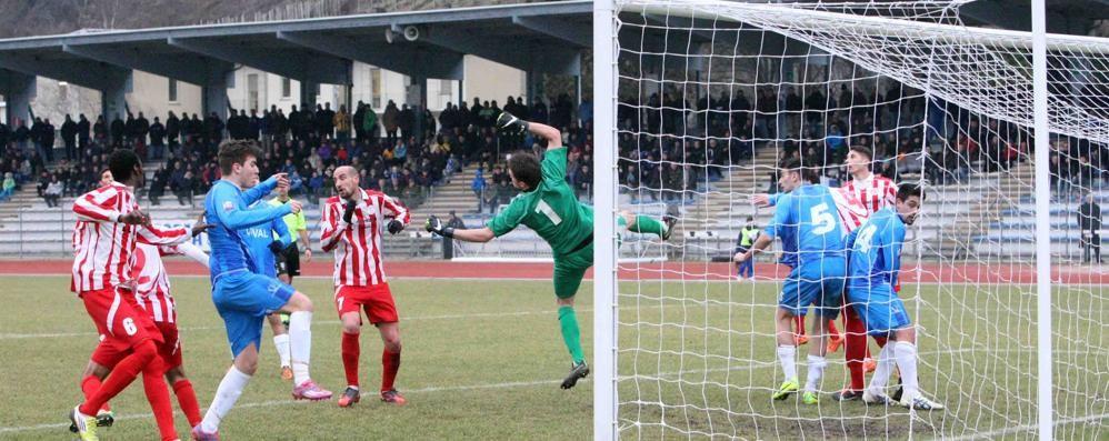 Calcio, Sondrio cade col Caravaggio e scivola al quinto posto