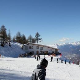 Cadute per ghiaccio e forte vento sulle piste da sci