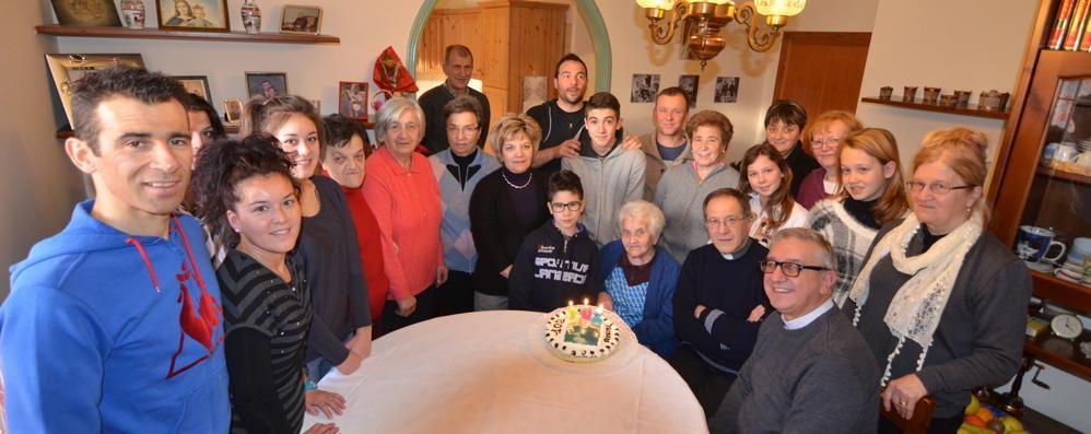 Lanzada, nonna Giovannina a quota 102 anni