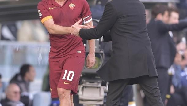 Totti: con Udinese tre punti che contano