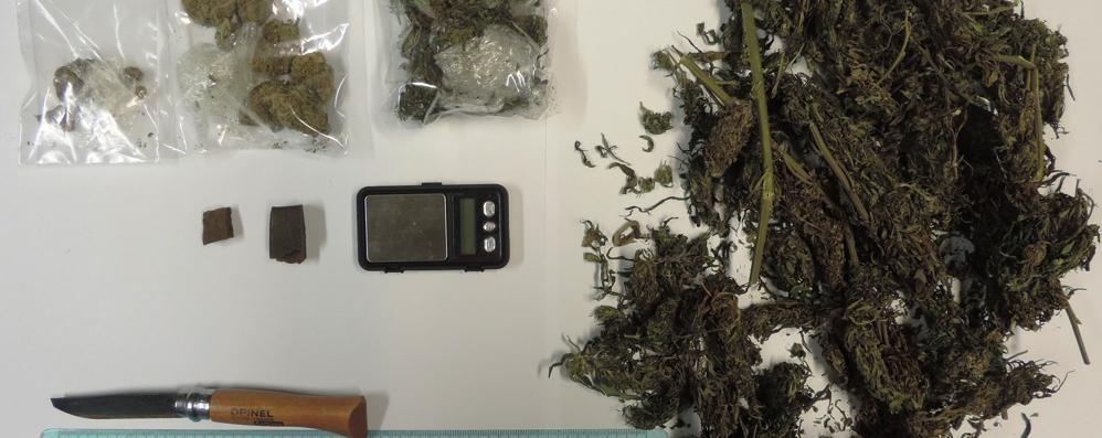 Hashish e marijuana, arrestato per spaccio a 16 anni