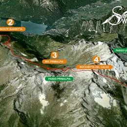 Il sentiero Walter Bonatti: ora il tracciato è in cartina