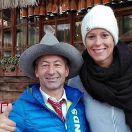 C'è Federica Pellegrini e Livigno fa notizia  anche in bassa stagione