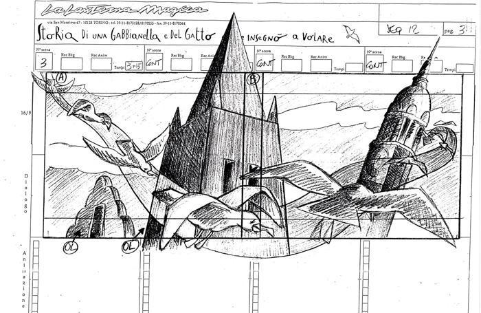 Un altro dei disegni di Garrone