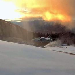 Arriva il freddo: corsa contro il tempo ad Aprica per preparare le piste