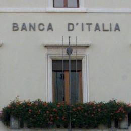 Banca d'Italia a Sondrio, salta il servizio di tesoreria