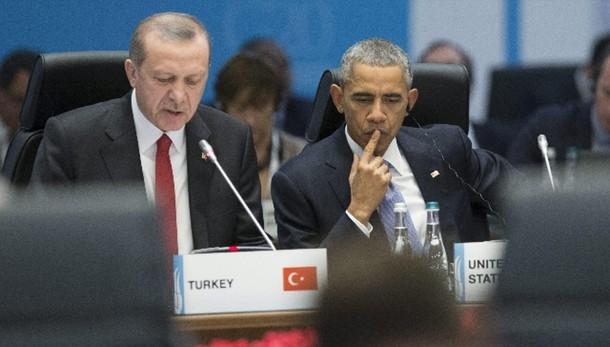 Obama a Erdogan, concentrarsi sull'Isis