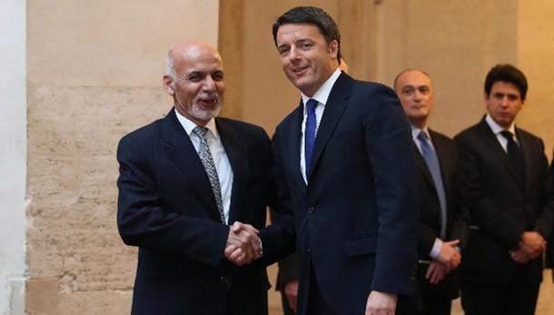 Renzi, Italia in Afghanistan anche 2016