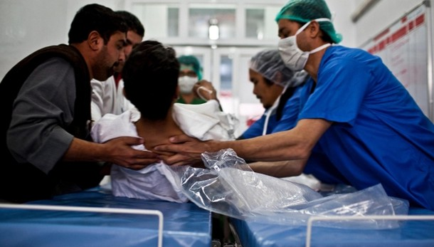 Siria: barili bomba su ospedale Msf
