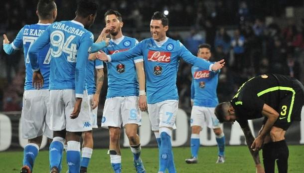 Coppa Italia: Napoli-Verona 3-0