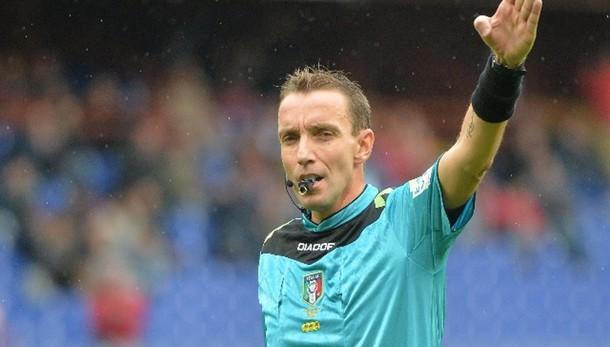 Serie A: Mazzoleni dirige Inter-Lazio