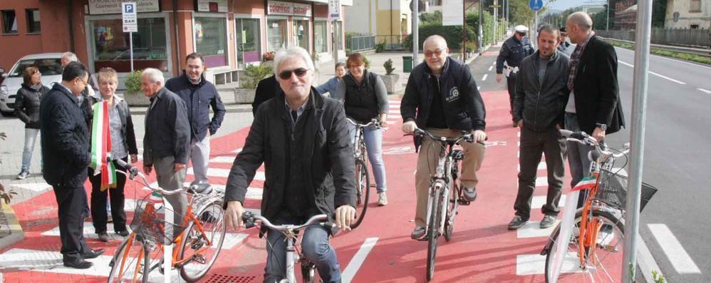 La pista ciclabile in via Stelvio si farà: chiesti finanziamenti alla Regione